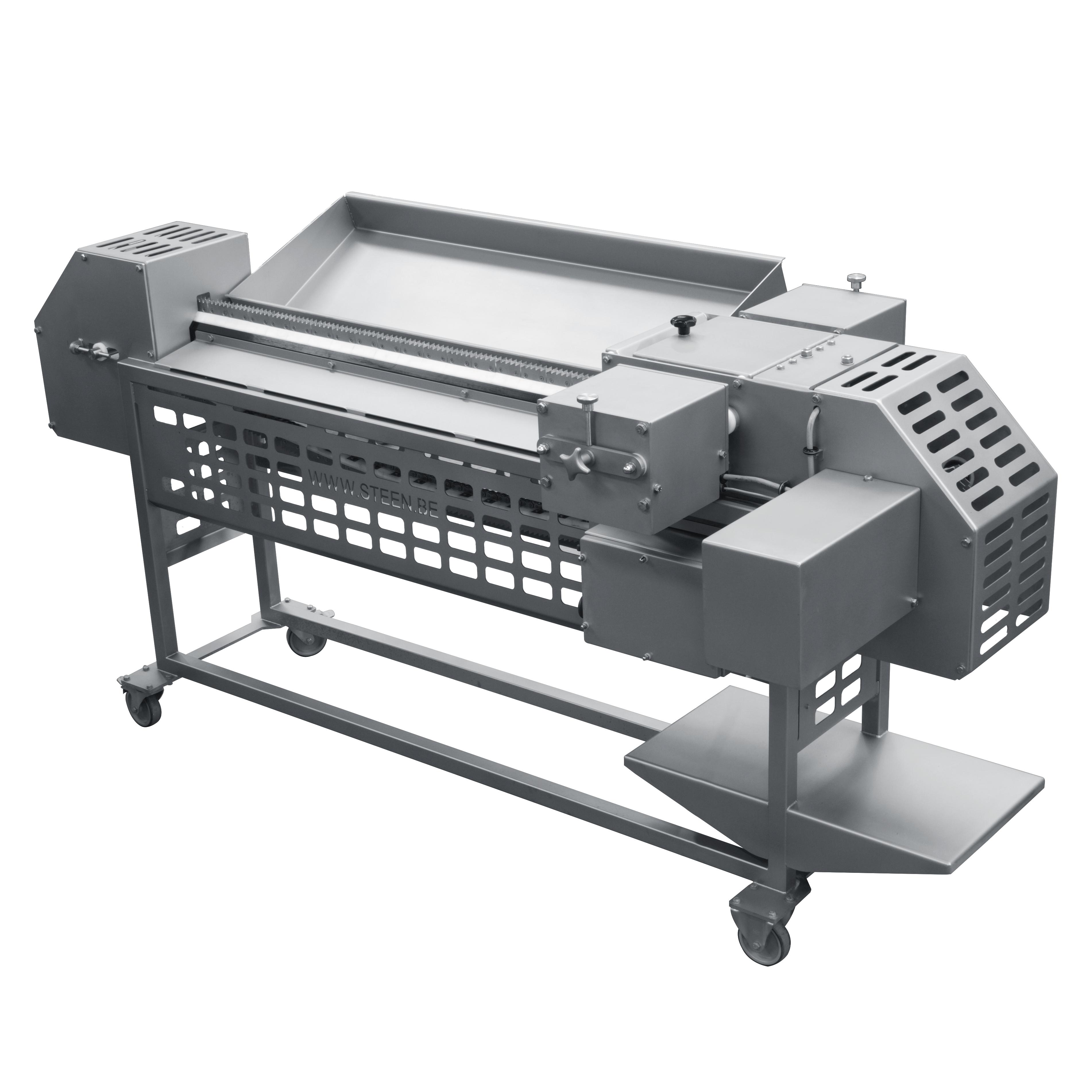 Steen fish fillet splitter st350f machine equipment for Fish skinner machine